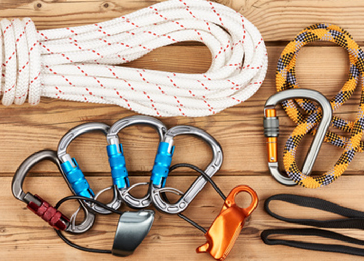 modern abseiling equipment